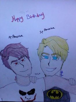 Happy Birthday! 1p and 2p America by Dina-soar