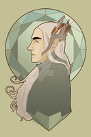Thranduil by hadthestrangestdream