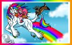 I AM ON A MAGICAL UNICORN by PinkScooby54