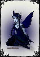 Blueberry the Fairy by PiccoloFreakNamick