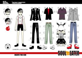 Death the Kid_paper doll 5 by tamarpg