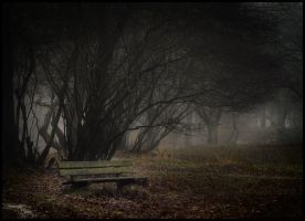 Creepy bench .... by MOSREDNA