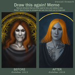 Before and After (October'15 - October'16) by Domerk