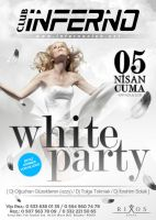 White Party Poster by DarkMonarch