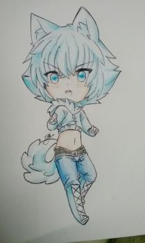 Glace chibi by beelzezlover