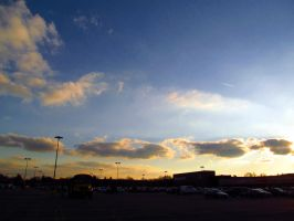 Mall. Sky.....School Bus?? by POETRYTHROUGHLENS