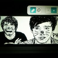 Dan and Phil Wii U by LuCkYrAiNdRoP