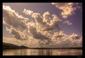 Big Dam Sky HDR by joelht74