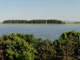 Danube: blue and green by ahappierlife