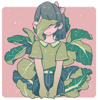 Cabbage Girl by tritn