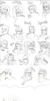 DSR Sketchdump by allybee113