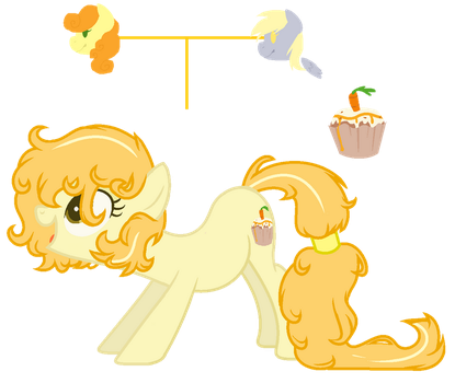 Healthy Sugar-Background Ponies Next Generation OC by RosePinkArts