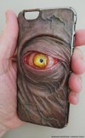 Eye Phone iPhone 6 case by MorgansMutations