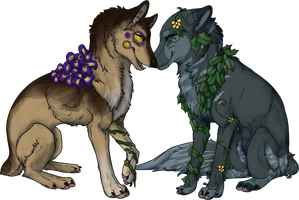 plant dogs commish by moonsteps