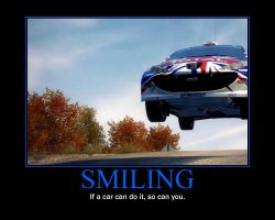 Smiling Motivational Poster by QuantumInnovator