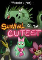 ??? Mission 7: Survival of the Cutest - Title Page by Galactic-Rainbow