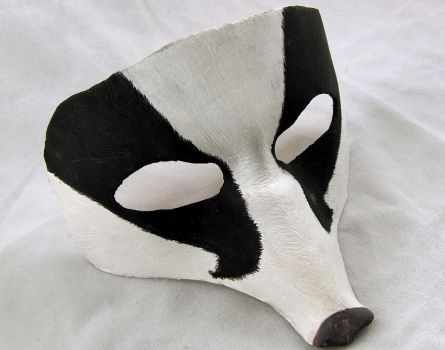 Badger Mask by An-Artistic-Sanity