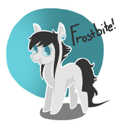 Commission: Frostbite by JellyBeanBullet