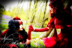 Little Red Riding Hood V by Nitemare-Photography