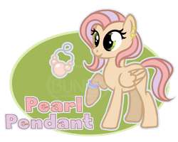 Pony OC: Pearl Pendant Ref+Bio by BootyWolf