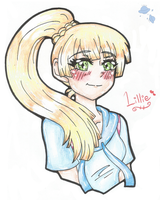 Pokemon - Lillie by Galaxy-Of-Stars