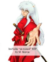 InuYasha Untooned by M-Skirvin