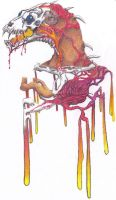guest color: Melting Horror by YuffaStrifentine