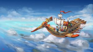 A bird ship by dothaithanh