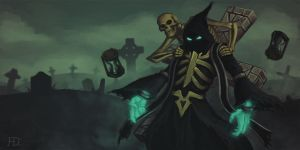 Time Wraith Zilean by Torvald2000