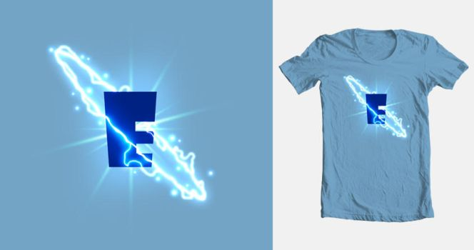T-Shirt Design - E-lectric by spellbound7