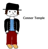 Connor Temple Chibi :3 by white-wolf27