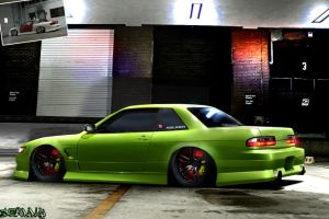 nissan silvia full bush by Johnny-Designer