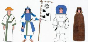 The Outfits of Samurai Jack I by Nes44Nes