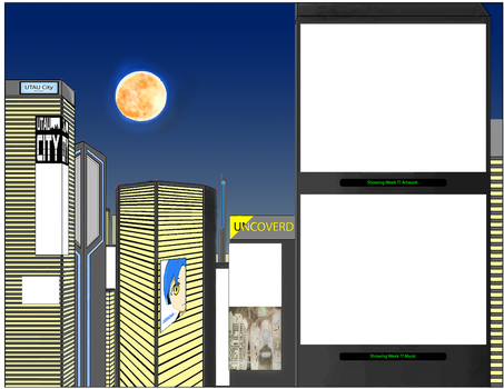 UTAU City Home Image (No added images but my own) by Josore