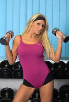 gym bunny by fineart-photographer