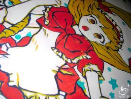 .:Red Riding Hood:. Mural by Mako-Fufu