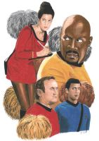 DS9 - Trials and tribbelations by Dahkur