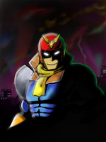 Captain Falcon 2 by HakuryuVision