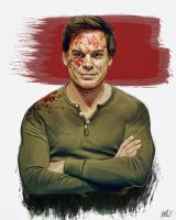 Dexter Morgan by LBG44