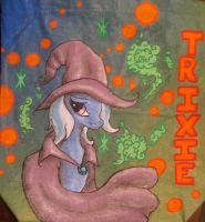 Mlp Trixie Tote Bag by Acrylicolt
