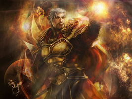 Dynasty Warriors 8 Sun Jian wallpaper by Paulinos