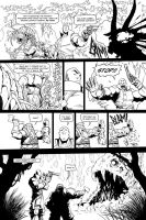 "Skullkickers 12 - ""The Beholder"" pg 02 by Inkthinker"