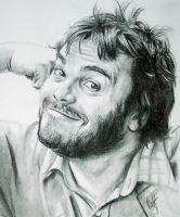 Jack Black by ajaxs50