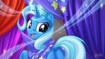 Trixie - Hats Off 16:9 by mysticalpha