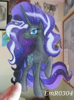 NightMare Rarity Paper Child by EmR0304