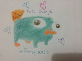 Felicidades perry 2000 by Mely-19