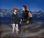 Arina and Pierce Resolve COLOR by Lycantheropa