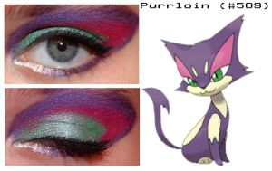 Pokemakeup 509 Purrloin by nazzara