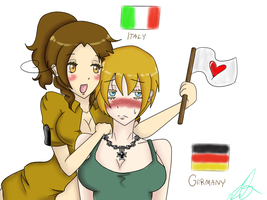 Italy and germany femslash by Imaginationxcorrupts