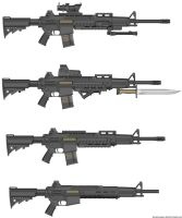 Weapons: H-77 by purpledragon104